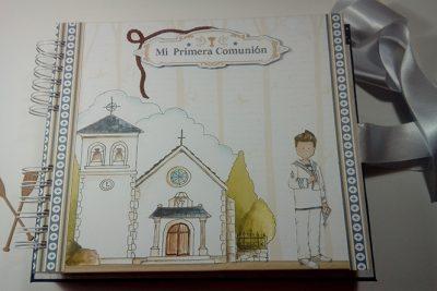 Libro de Firmas de Mi Primera Comunión para Antonio
