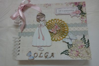 Album y Libro de Firmas para Olga
