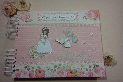 Album Mi Primera Comunión para Valeria