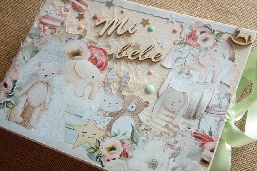 "Album para bebé ""Tiny Miracle"""