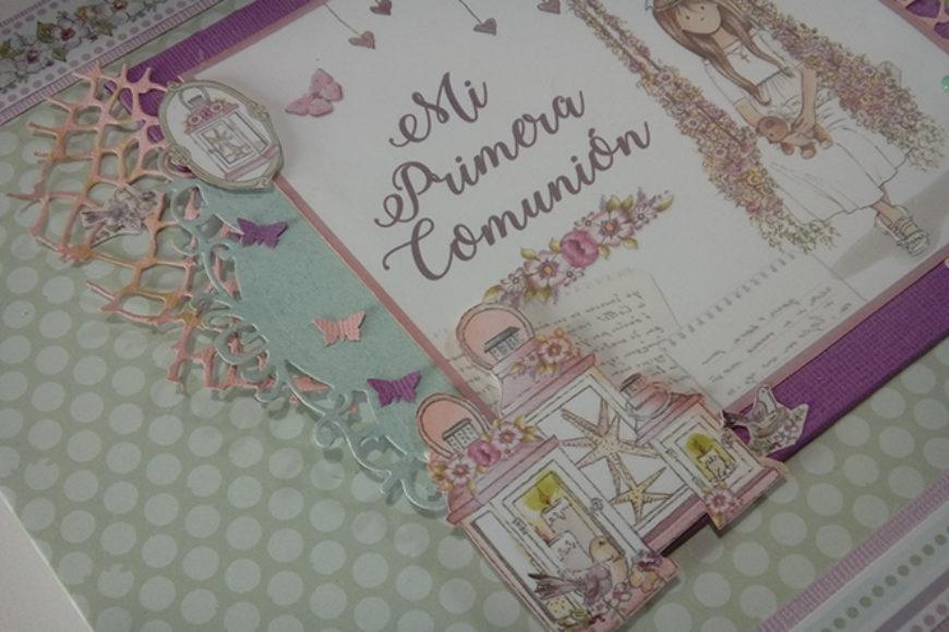 Album de Comunión para niña