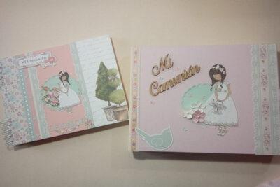 Album Comunión Dayka Trade para niña
