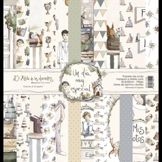 """Set Completo """"Un Día Muy Especial Niño"""" de El Altillo de los Duendes"""