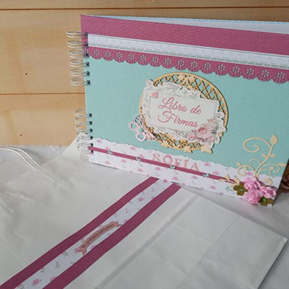 Libro de Firmas para niña