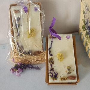 Ambientador natural de cera de soja con aceite esencial de Lavanda